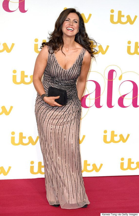 Susanna Reid Leads Stars At ITV Gala, As She's Joined By Holly Willoughby, Caroline Flack And More