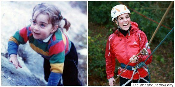 Duchess Of Cambridge Rekindles Her Childhood Love Of Climbing As Part Of Children's Mental Health
