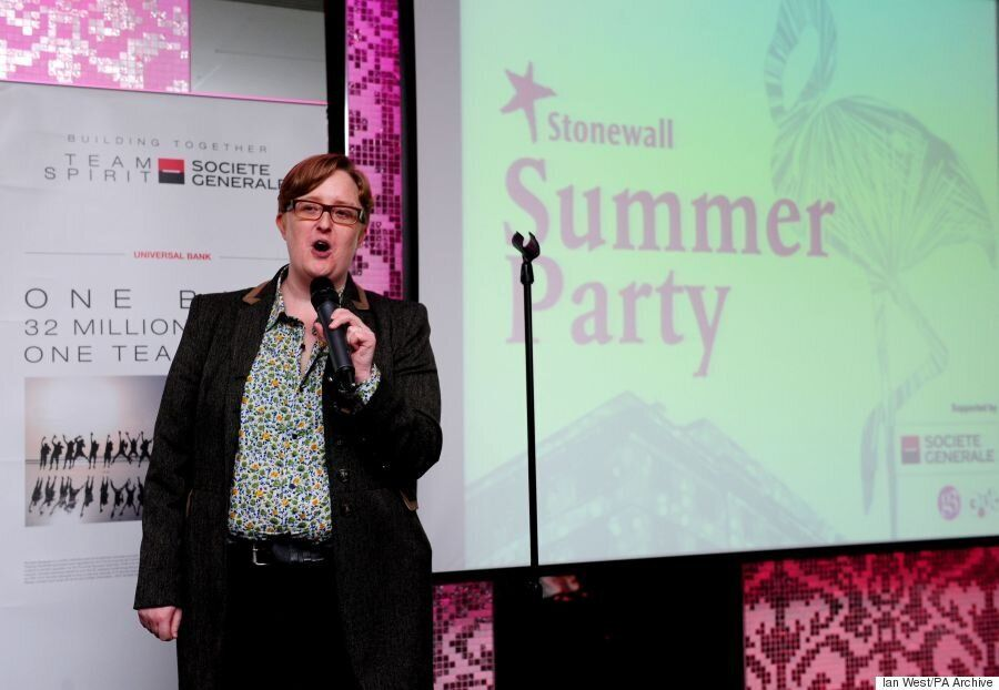 Stonewall's Ruth Hunt Explains Why Its Drive To Include Transgender Rights Didn't Happen Until