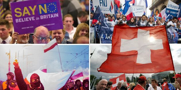 10 European Right-Wing Parties Poised To Exploit Post-Paris Attacks Fears At The