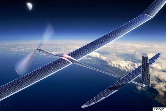 Google's Project SkyBender Would Beam 5G Internet From Solar-Powered