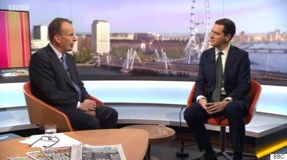 George Osborne Insists Tax Credit Defeat Does Not Make Him
