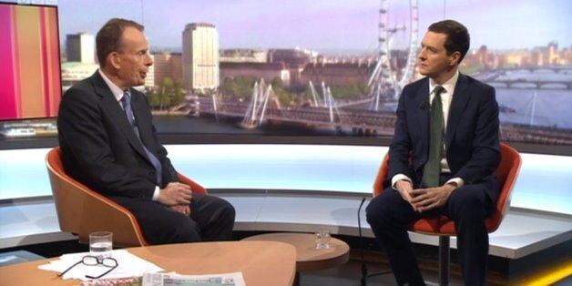 George Osborne Refuses To Rule Out Cuts To