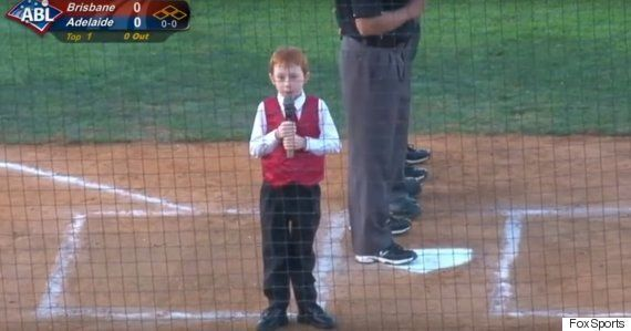 Australian Boy Hiccups National Anthem And It Proves Anything Is