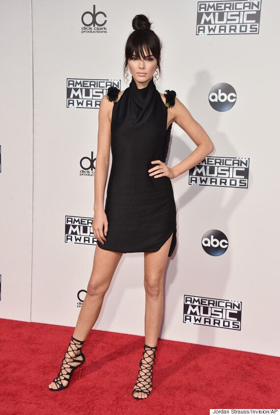 American Music Awards 2015: Kendall Jenner Shows Off Sultry New