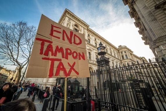 UK-USA 'Period Pride' Demo Launched as Osborne Fails to Scrap Tampon