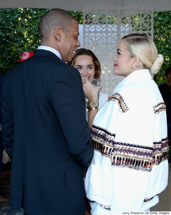 Rita Ora Being Sued By Jay Z's Roc Nation Label For 'Breaking Her Record