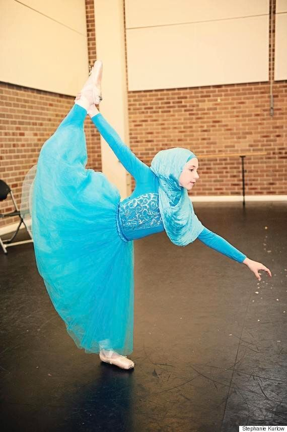 Teenager Stephanie Kurlow Dreams Of Becoming The World's First Hijab-Wearing