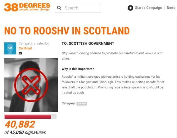 Pick-Up Artist 'Roosh V' Should Be Banned From Britain, Owen Thompson MP Urges Theresa