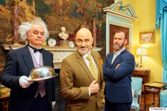 'Come Dine With Me' Narrator Dave Lamb Surprises Fans As He Appears In Person On Channel 4 Cookery
