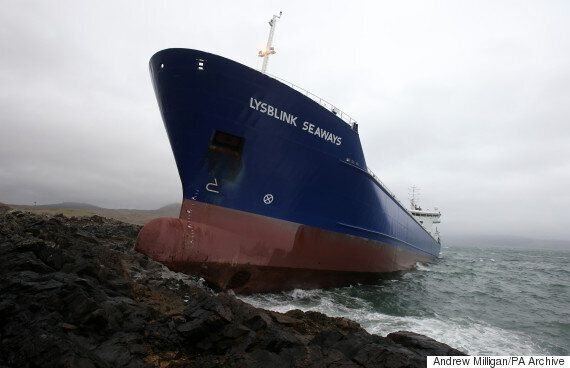 Russian Sailor Crashed 7,000-Tonne Ship Into Scottish Coast After Drinking Half A Litre Of