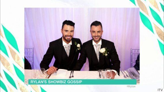 Rylan Clark Gives 'This Morning' Viewers First Look At Wedding To Dan Neal