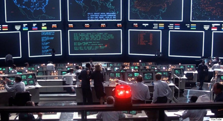 Vladimir Putin Directs Military Operations Against Syria From Dr Strangelove's War