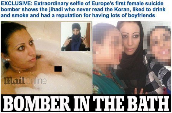 Daily Mail's Hasna Ait Boulahcen Bath Selfie Pictures Were A Sensational Case Of Mistaken