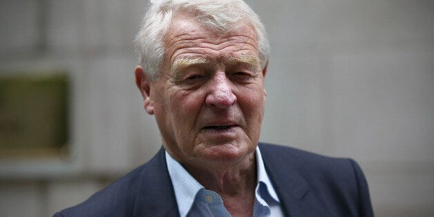LONDON, ENGLAND - JUNE 02: Former Liberal democrat leader Paddy Ashdown leaves after attending a television...