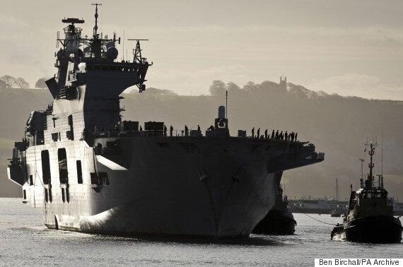 Navy Flagship HMS Ocean Quietly Scrapped By Government Despite £65 Million Refit Last