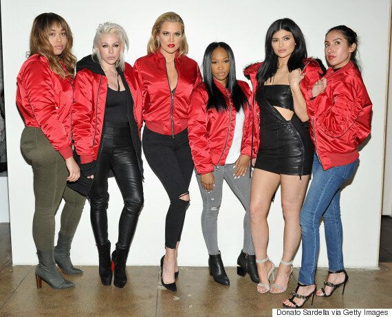 Kylie Jenner Channels Sister Kim Kardashian In Leather And Latex