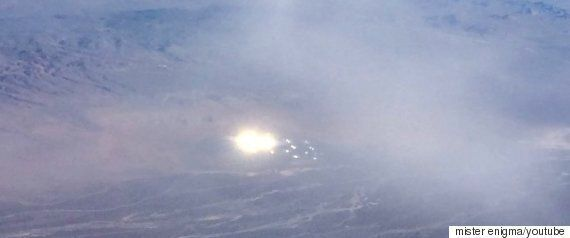 American Airlines Passenger Spots 'UFO' Near Top Secret Area 51 Military