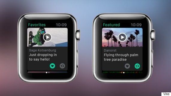 Vine Apple Watch Update Lets You Watch Viral Videos On Your