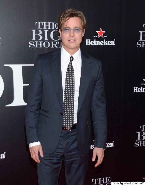 Brad Pitt Brings Back His 90s Hair At The Big Short