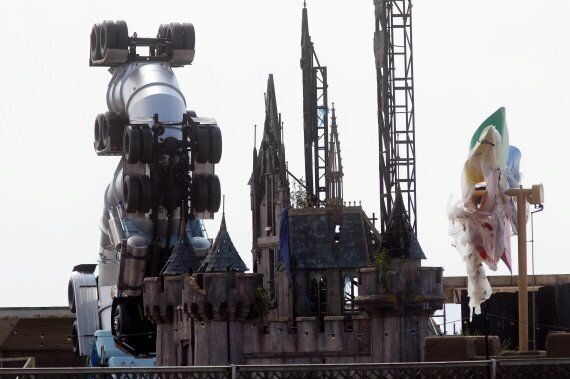 Banksy's Dismaland: Inside The Weston-Super-Mare Alternative Theme