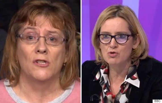 BBC Question Time Audience Member Slams Amber Rudd And 'Eurosceptic' Tories For Staying