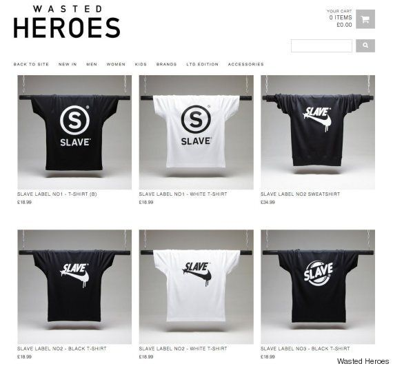 ASOS Under Fire For Selling 'Slave' T-Shirt Modelled By A Black