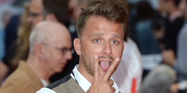 Dapper Laughs arriving at the The Hooligan Factory Premiere, at The West End Odeon, Leicester Square,