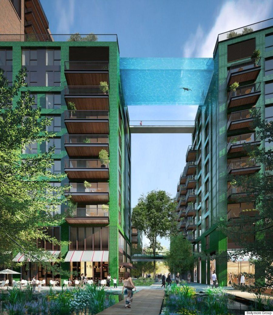 London's South Bank Is Getting The World's First Sky Swimming