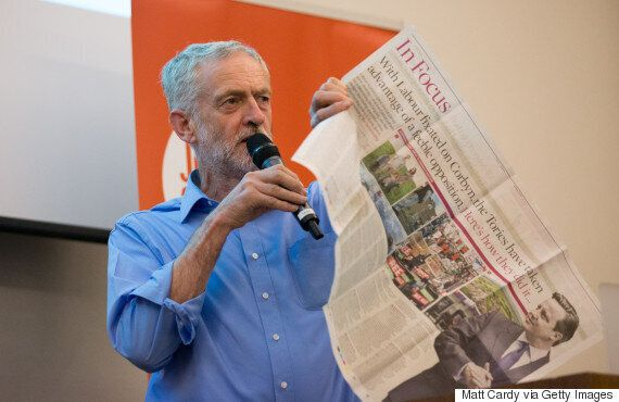 Jeremy Corbyn 'Systematically' Attacked By British Press The Moment He Became Leader, Research