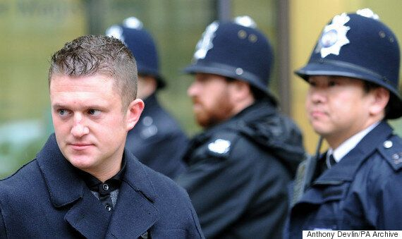 EDL's Tommy Robinson Arrested Weeks After Being Released After Prison