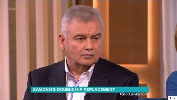 'This Morning': Ruth Langsford Says Husband Eamonn Holmes Is Doing 'Very Well' After Double Hip