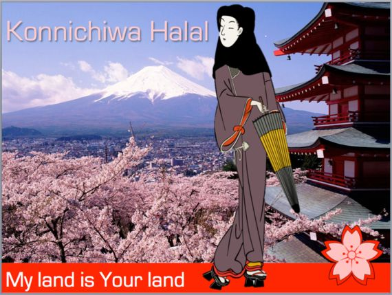 Konnichiwa Halal - As Japan opens its arms to
