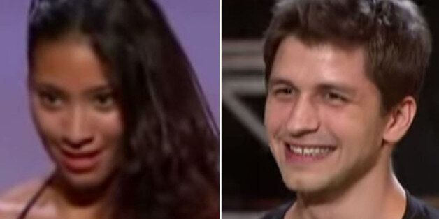 Karen Hauer and Pasha Kovalev on their pre-'Strictly'