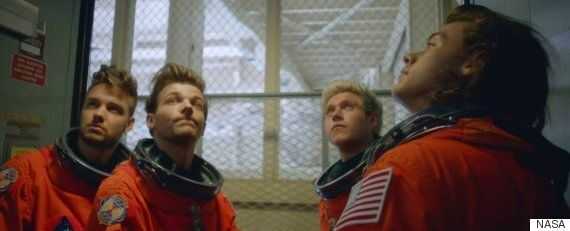 Drag Me Down One Direction Video Uses Real NASA Footage And Astronaut
