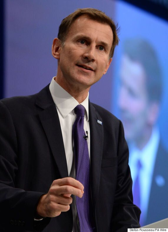 Jeremy Hunt Hits Out At BMA Ahead Of Second Junior Doctors'