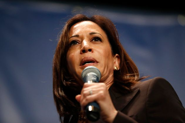 Democratic presidential candidate Kamala