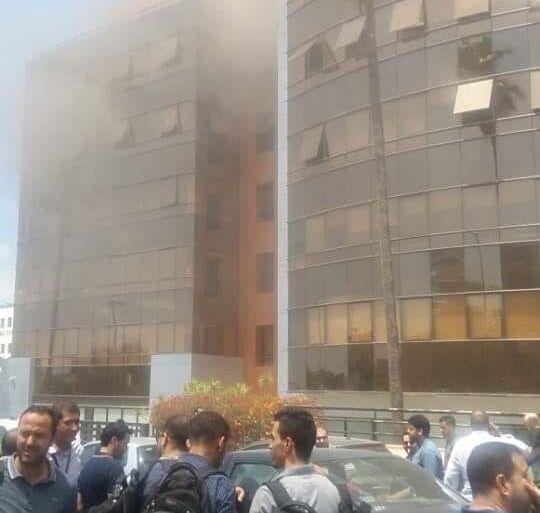 À Casablanca, un incendie maîtrisé au siège