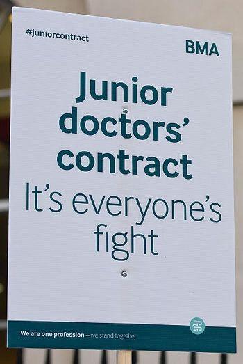 The Juniors Doctors Aren't Striking For