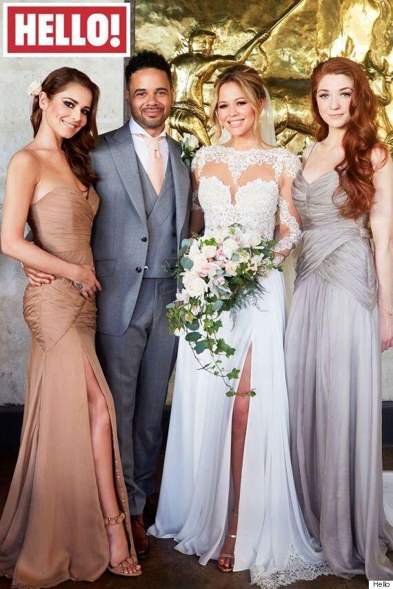 Kimberley Walsh Wedding Photos: Singer And Husband Justin Scott Joined By Cheryl Fernandez-Versini In...