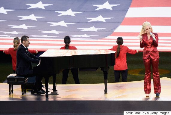 Lady Gaga Wows With Impressive Performance Of US National Anthem At 2016 Super Bowl
