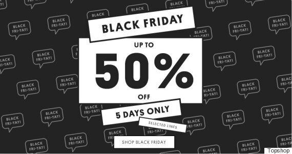 Black Friday Topshop Deals 2015: UK Opening Times And All The Best Sale