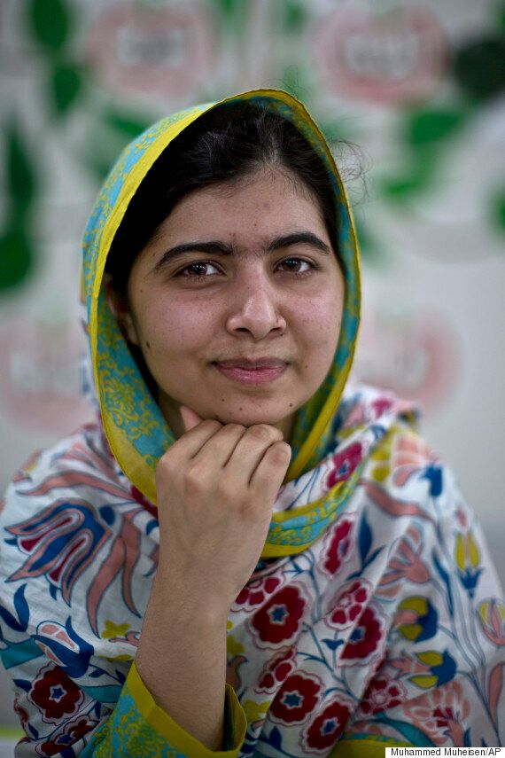Malala Yousafzai Totally Bossed Her