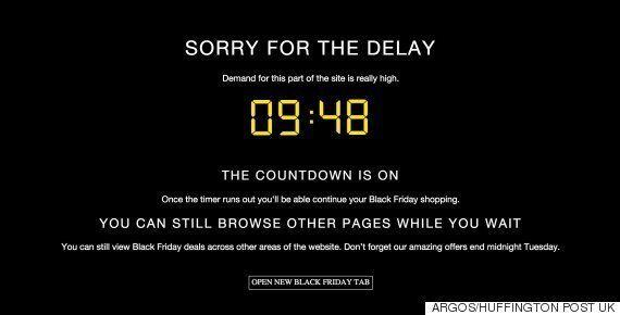 Argos Black Friday 2015 Deals See Website Buckle Under