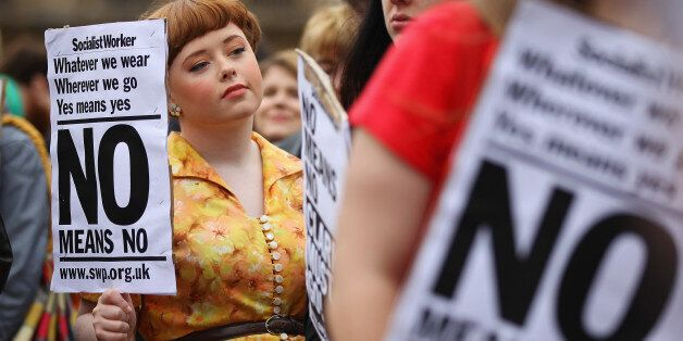 Glasgow's first ever 'slut walk' in 2011 in a bid to raise awareness about commonly-held attitudes towards...