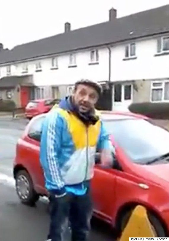 'Idiot UK Driver' Angry About DVLA Clamping His 'Motor' Attacks It With Sledgehammer So They Can't Sell