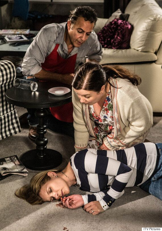 'Coronation Street' Spoiler: Leanne Left Injured After Physical Attack From Stepson Simon