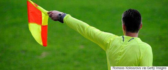 Footballer Given One Year Ban For Slapping Female Linesman With His