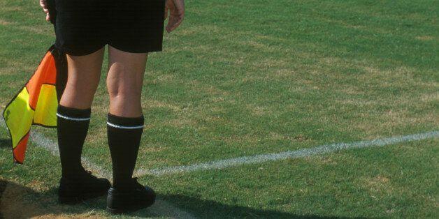 Soccer referee /