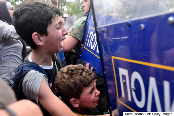 Macedonia Insists Migrants Were Not Mistreated Despite Firing Stun Grenades And Tear